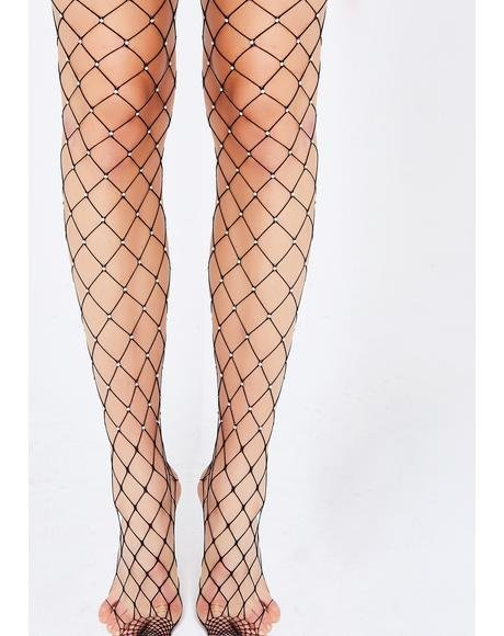 Oh You Fancy Fishnet Tights