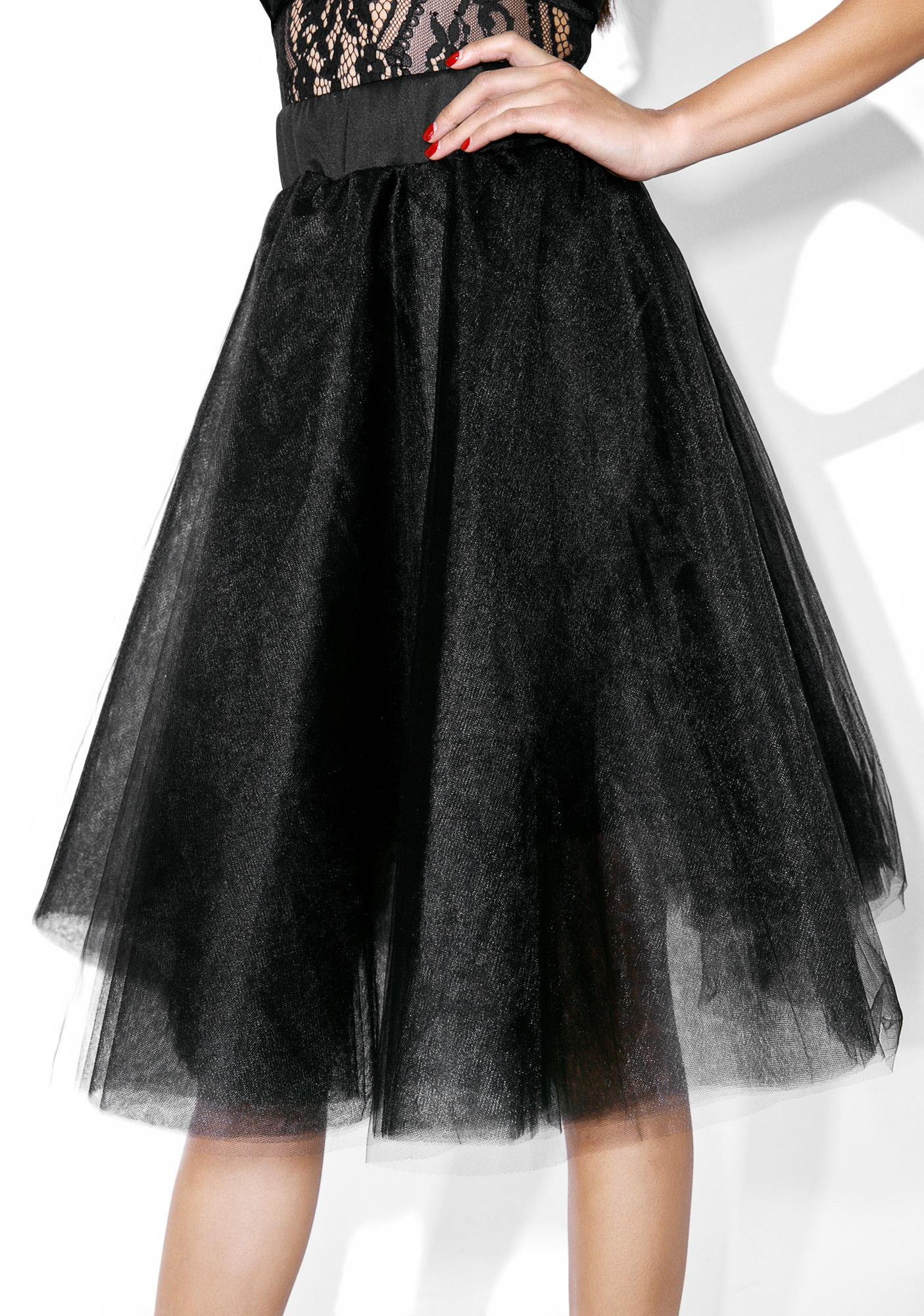 Dark Magick Tulle Skirt