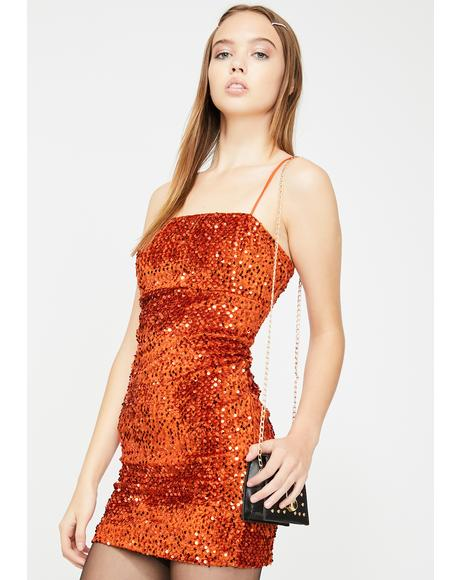 Cecile Sequin Dress