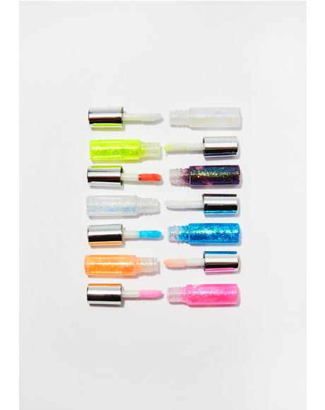 Mini Glitter Glue Sticks