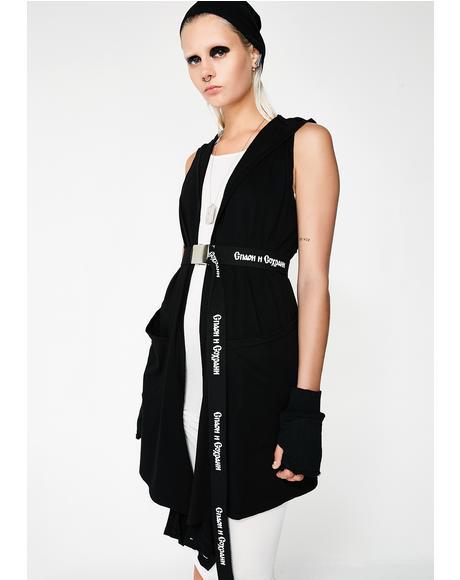 Raphael Hooded Wrap Vest