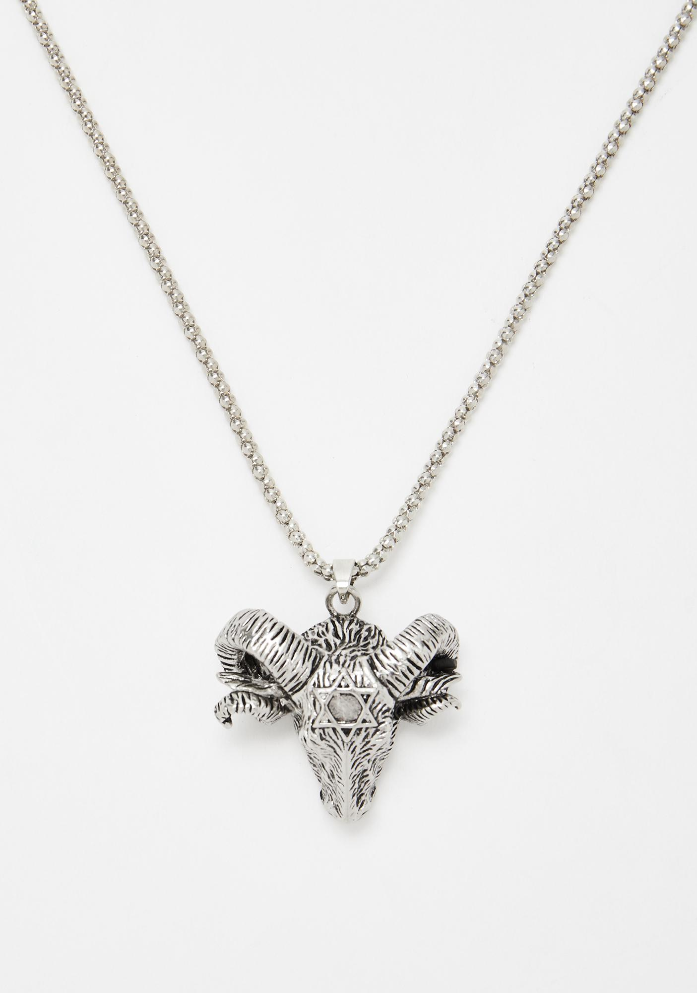 Fury Fighter Ram Necklace