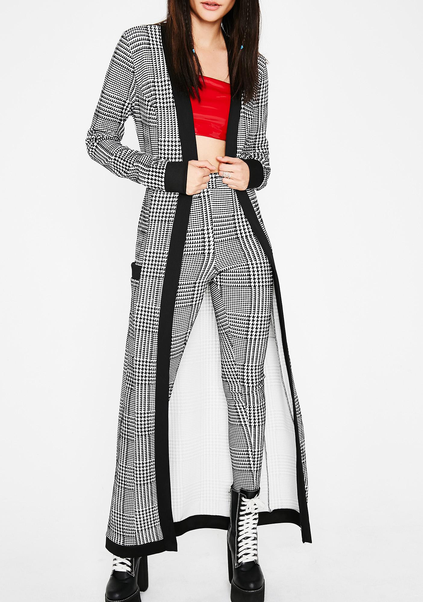 Serious Business Belted Cardigan