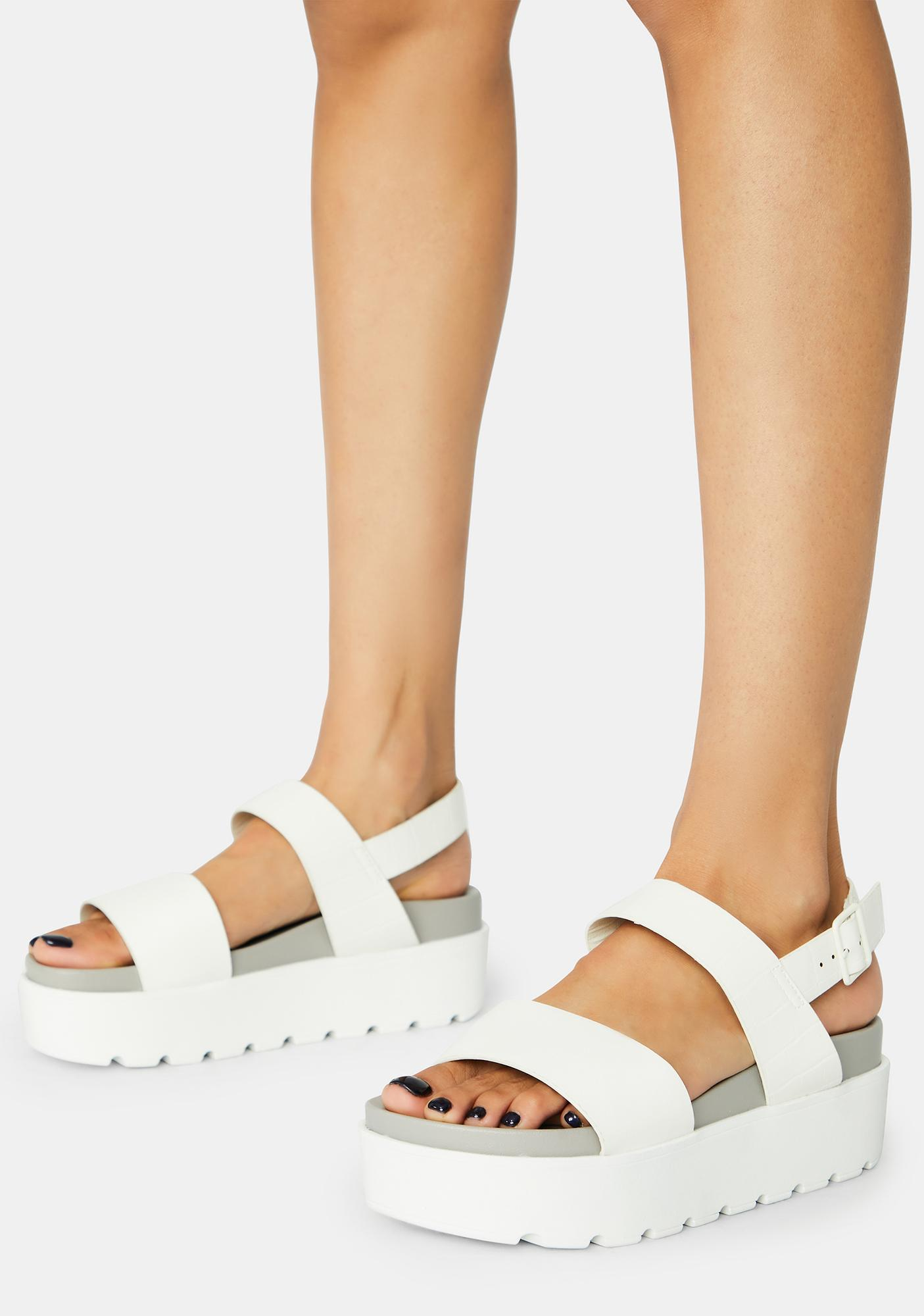 Lost Without You Platform Sandals