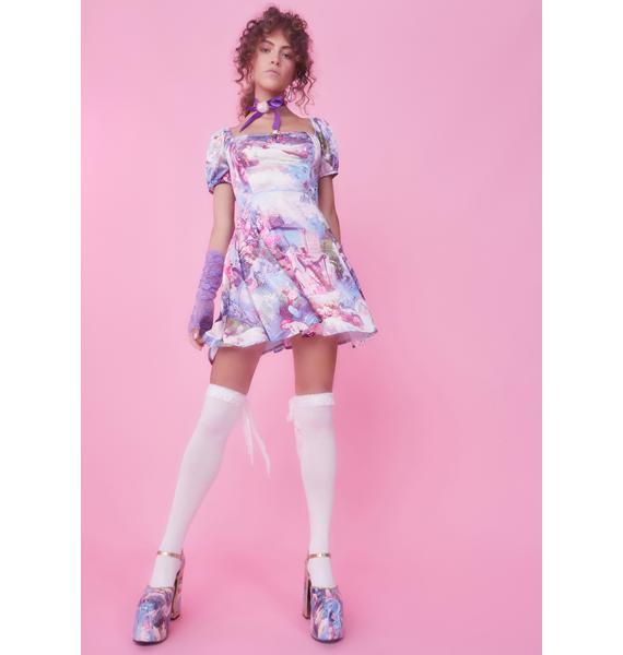 Sugar Thrillz Once Upon A Dime Babydoll Dress