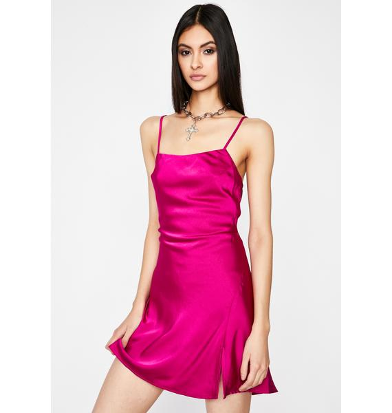Orchid Keep You Around Slip Dress