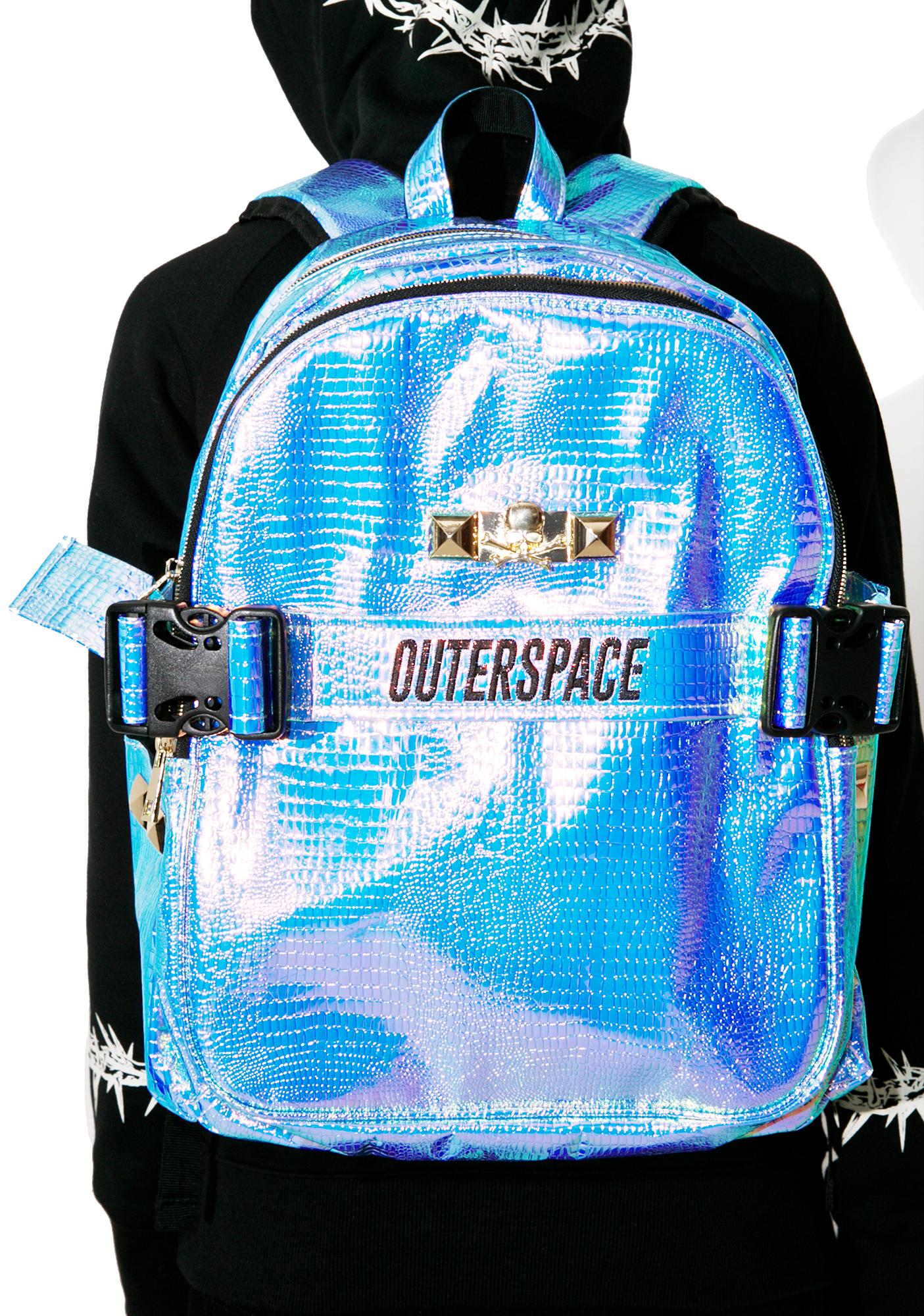 Outerspace Scaled Reflection Backpack