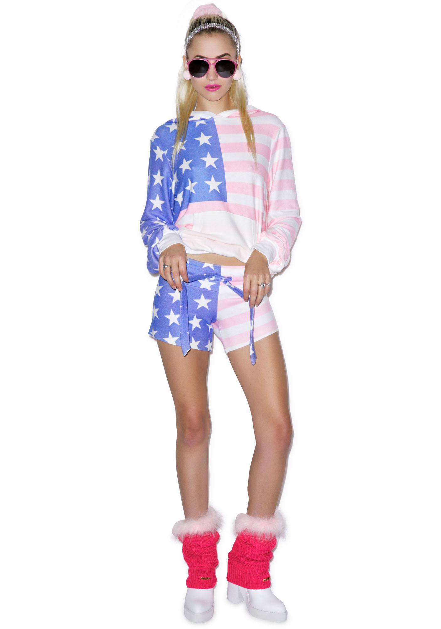 Wildfox Couture Miss America Cutie Shorts
