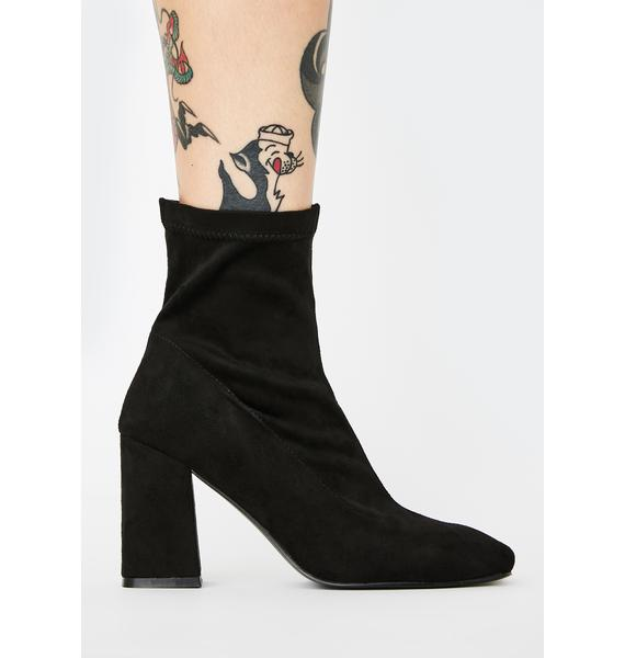 Public Desire Addict Heeled Ankle Boots