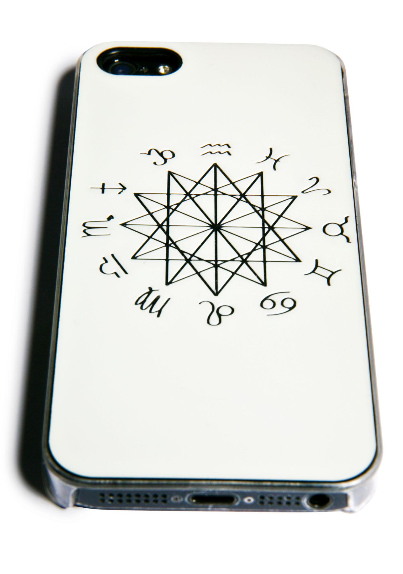 Zero Gravity Zodiac Glow in the Dark iPhone 5/5S Case