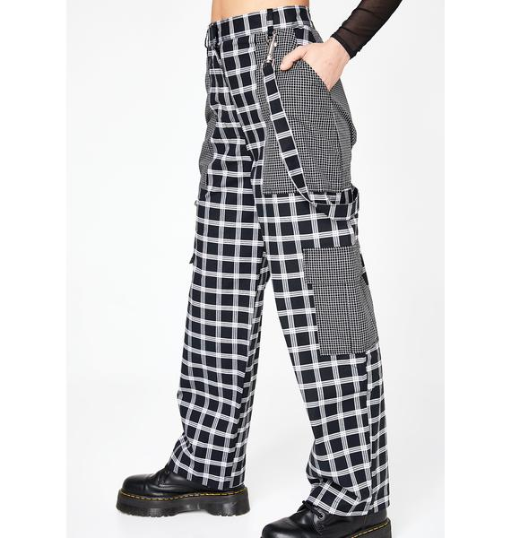 The Ragged Priest Grid Combat Trousers