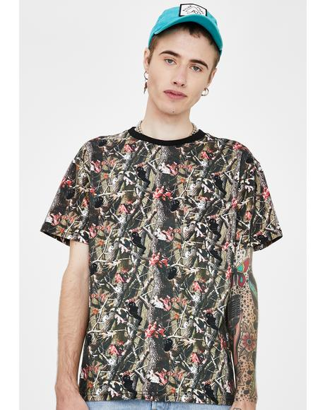 Nerm N' Jerm Tree Camo Pocket Tee