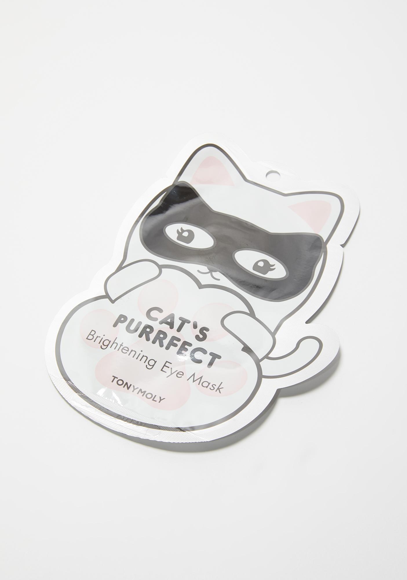 TONYMOLY Cat's Purrfect Brightening Eye Mask