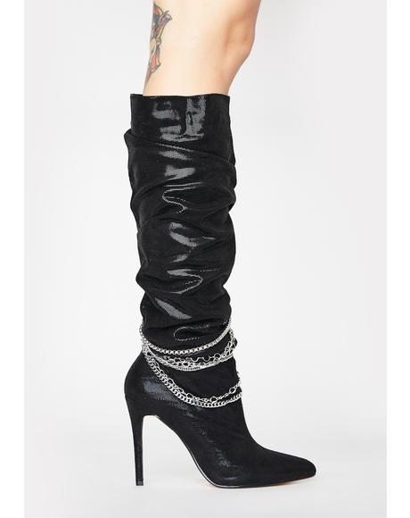 Spandau Knee High Boots