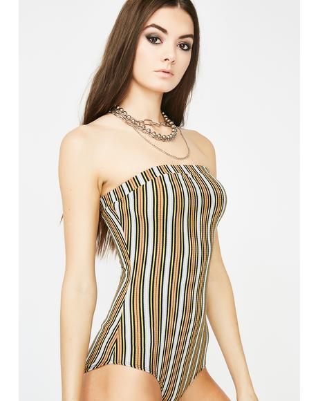 Golden Class Flirt Strapless Bodysuit