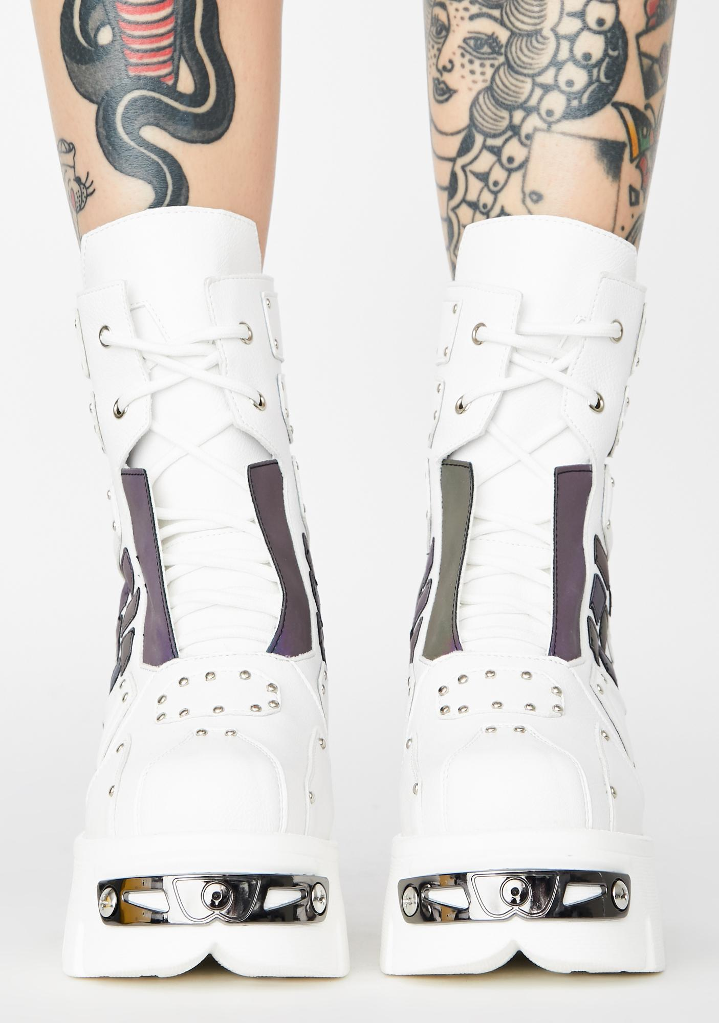 Cyber City Reflective Sneakers