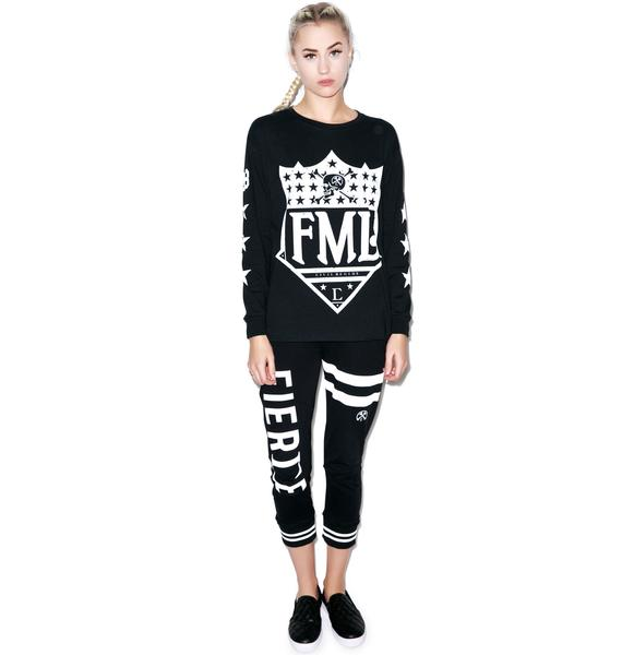 Civil Clothing FML Long Sleeve Tee