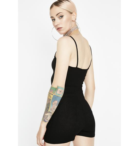 Witch Do The Impossible Ribbed Romper