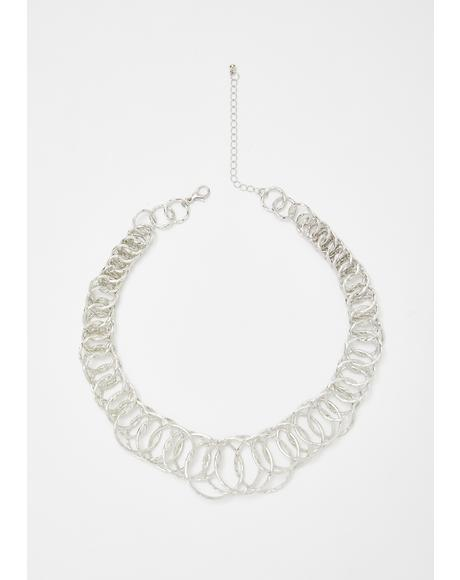 Linked Loner Chain Necklace