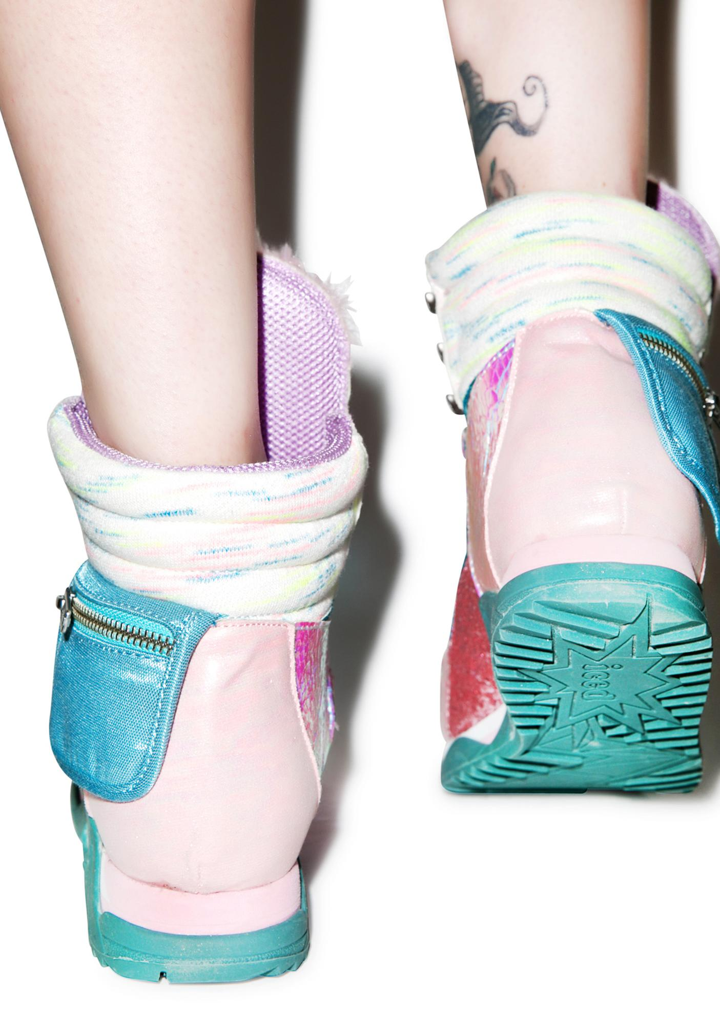 Irregular Choice Candy Damsel Sneakers