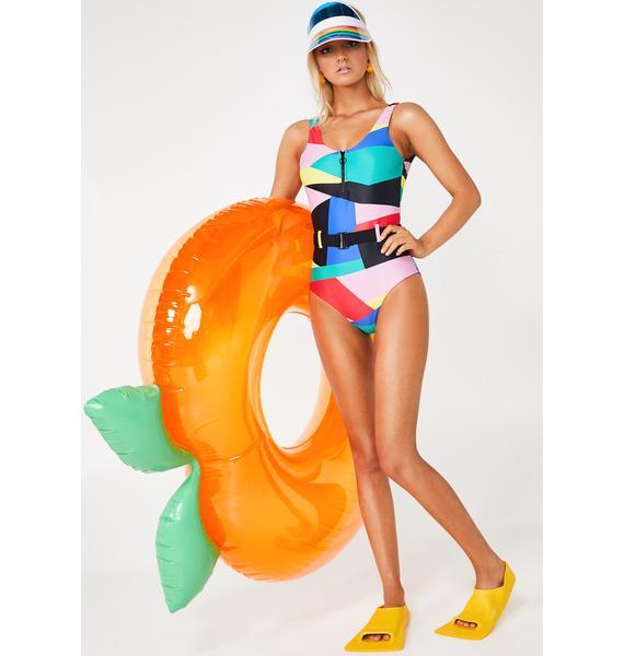 Lazy Oaf Geo Shape Swimsuit