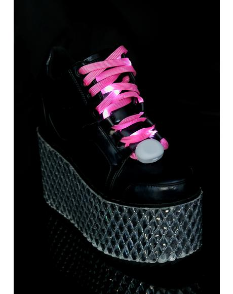 Candy In A Flash Light Up Shoelaces