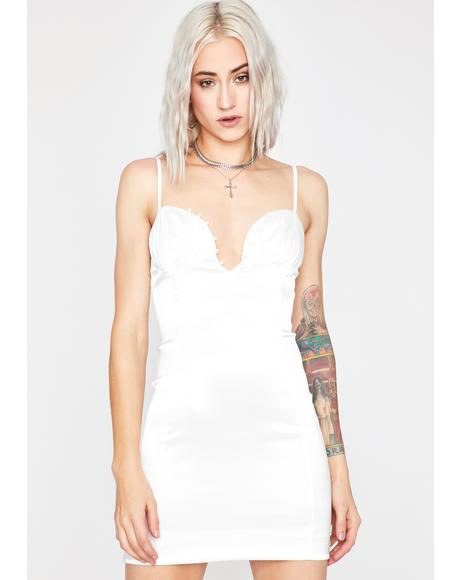 Vanilla Beautiful Liar Mini Dress