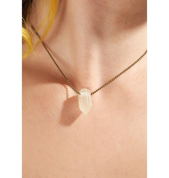 Supermoon Glow In The Dark Necklace