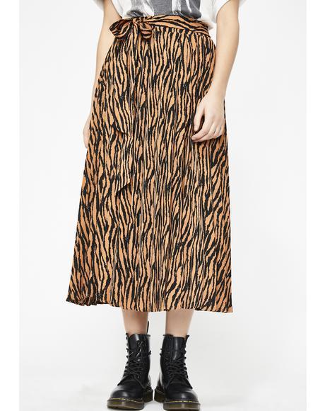 Wild Zenith Midi Skirt