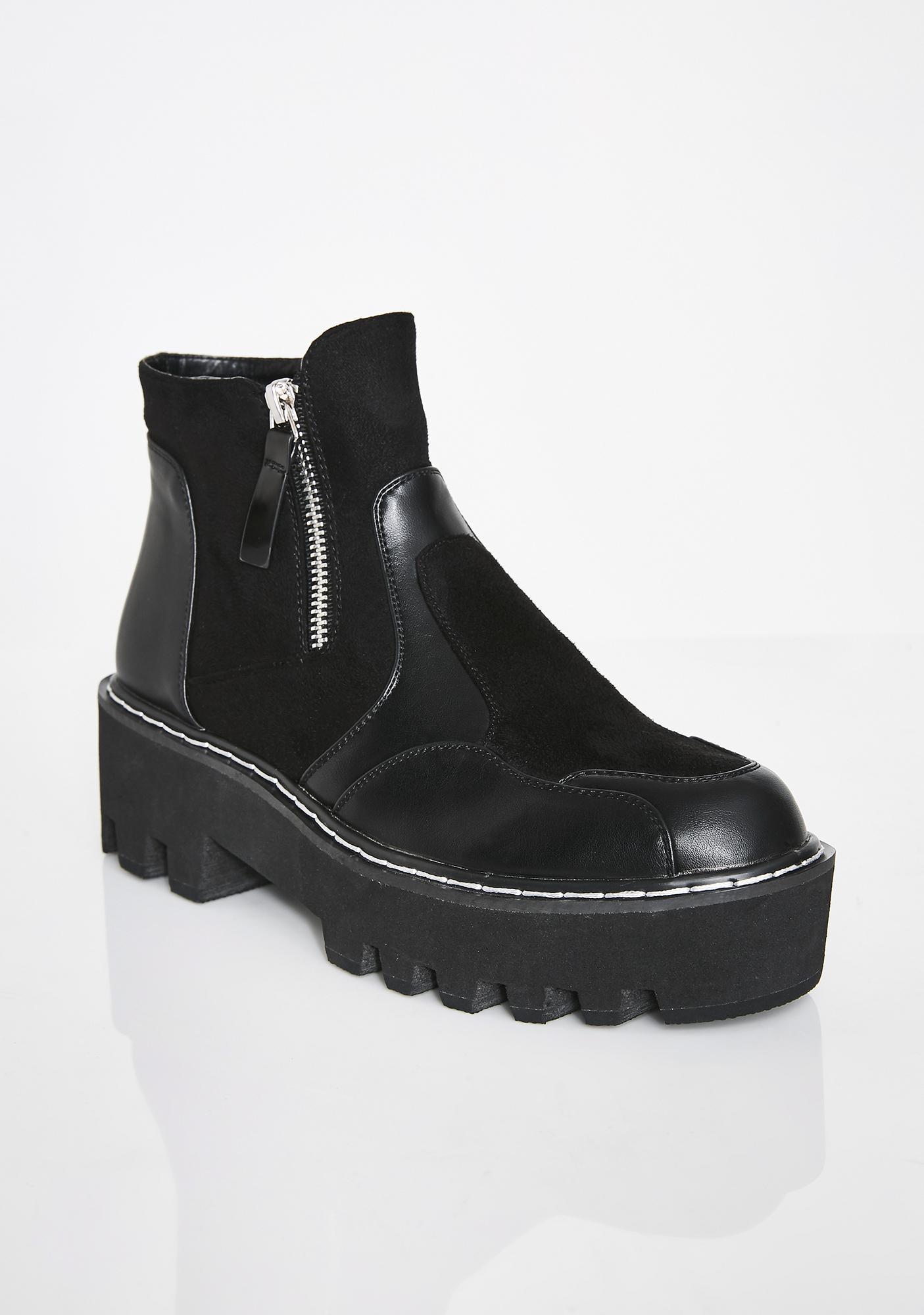 Lamoda Design Chunky Ankle Boots