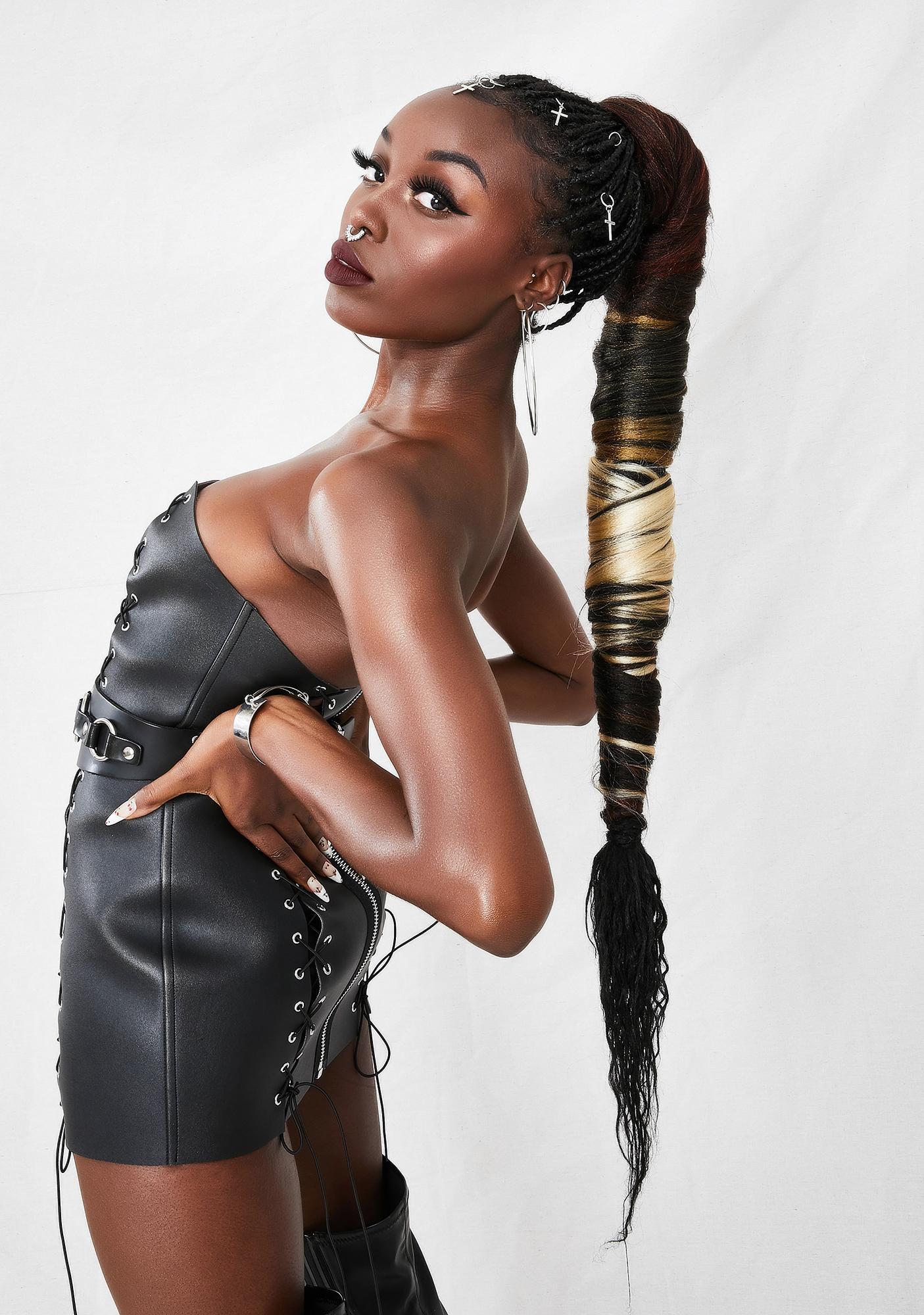 Classic Jasmine Ombre Copper Rich Braid Hair