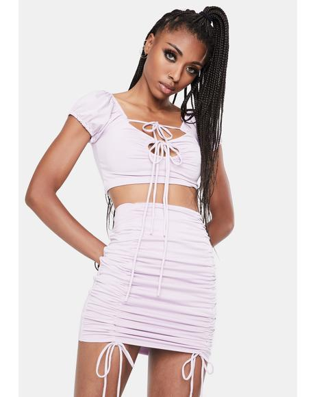 Hold On To Me Skirt Set