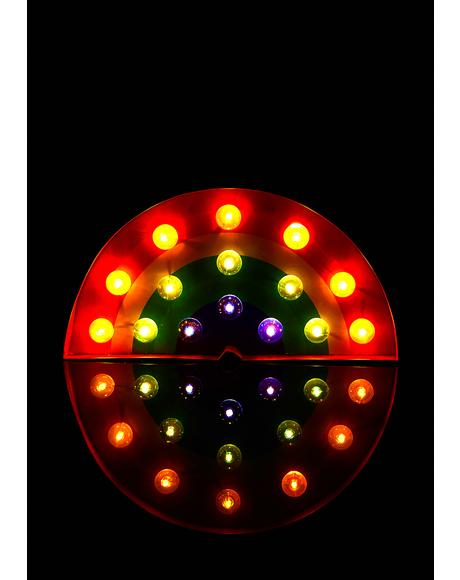 Ravey Rainbow Marquee Light