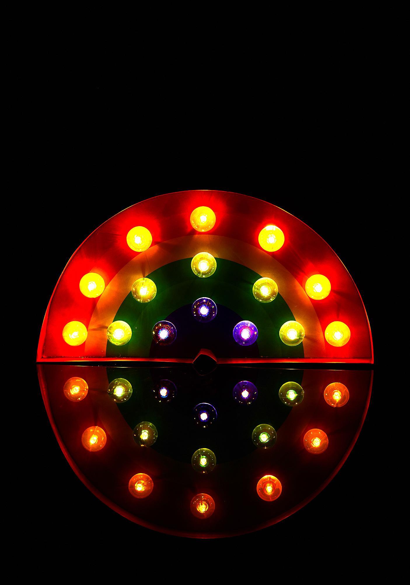Ravey Rainbow Marquee Light
