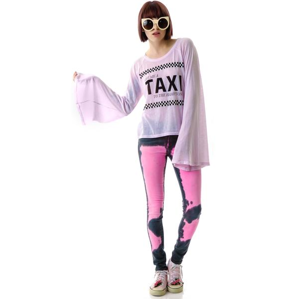 Wildfox Couture Take Me to the Hamptons Hotel Room Long Sleeve Tee