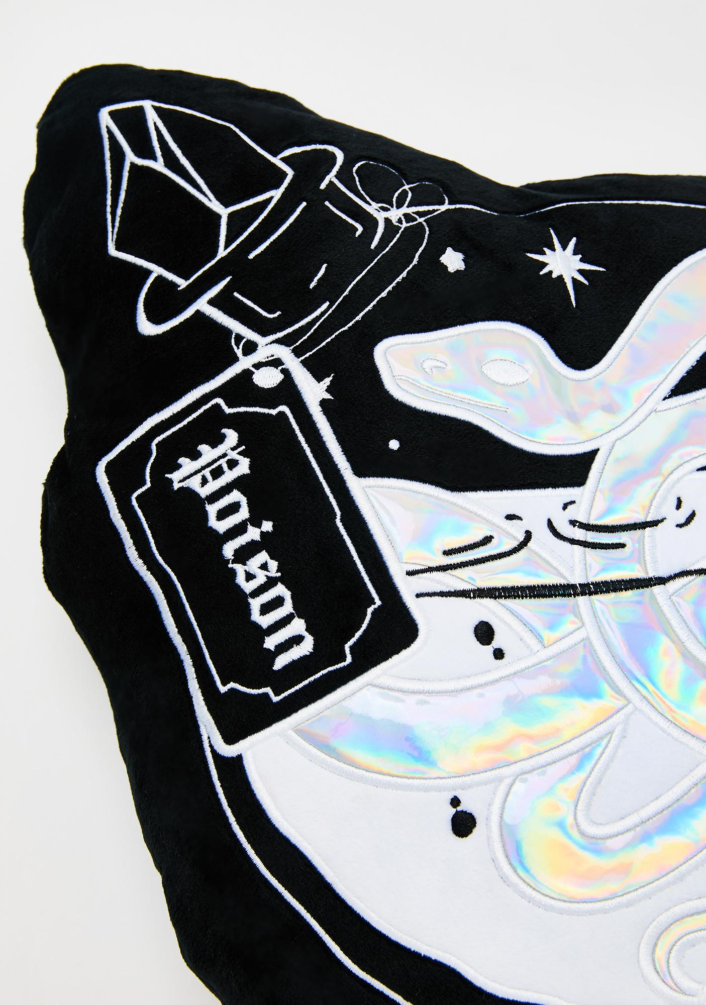 Killstar Poison Velvet Cushion