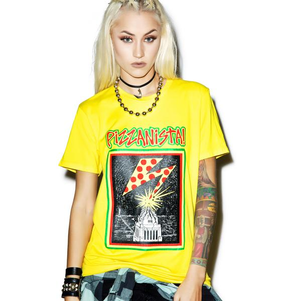 Pizzanista Almighty Pizza Tee
