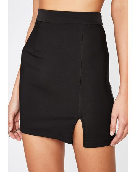 Dark Hey Sista Mini Skirt