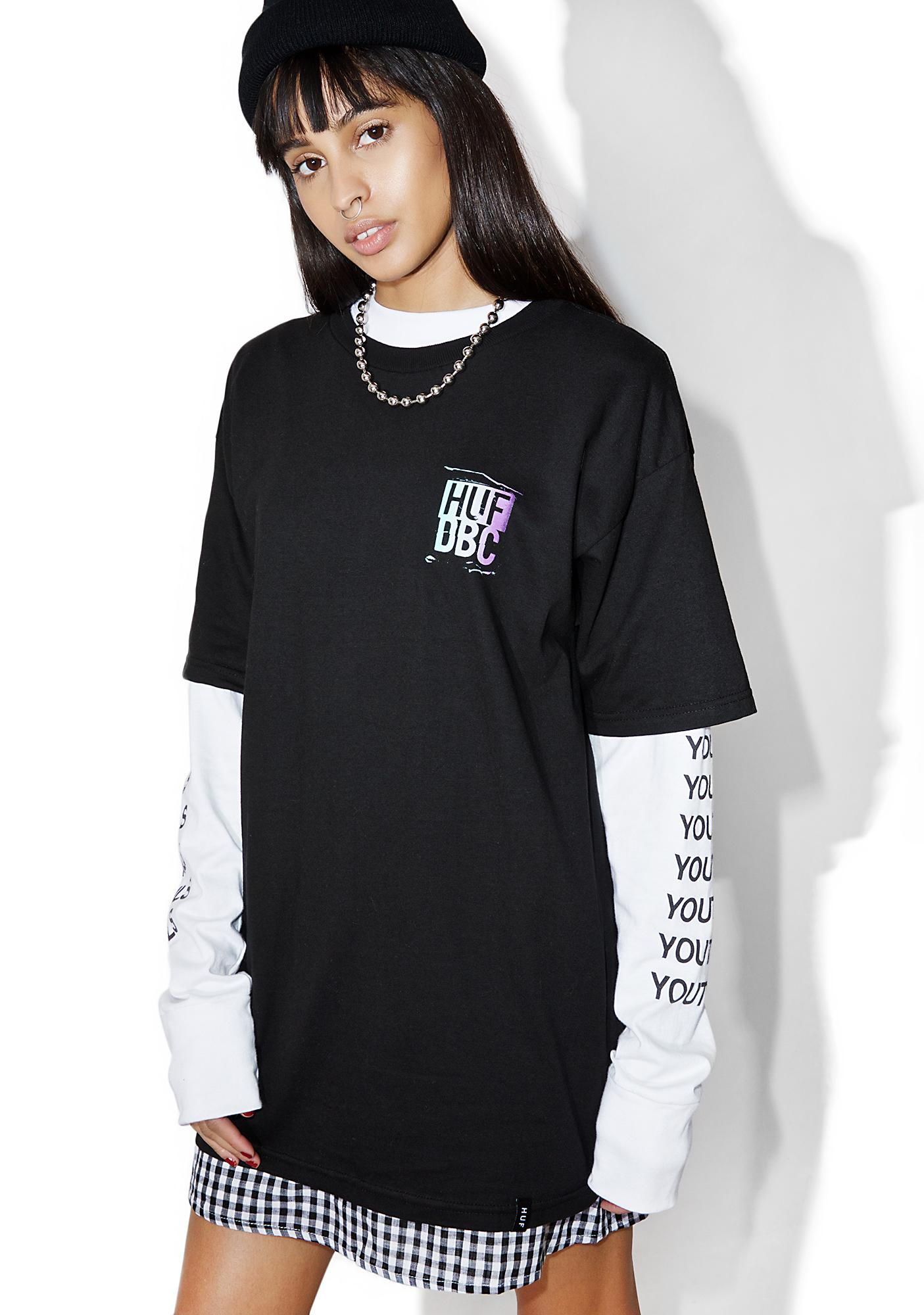 HUF DBC Gradient Quotes Tee
