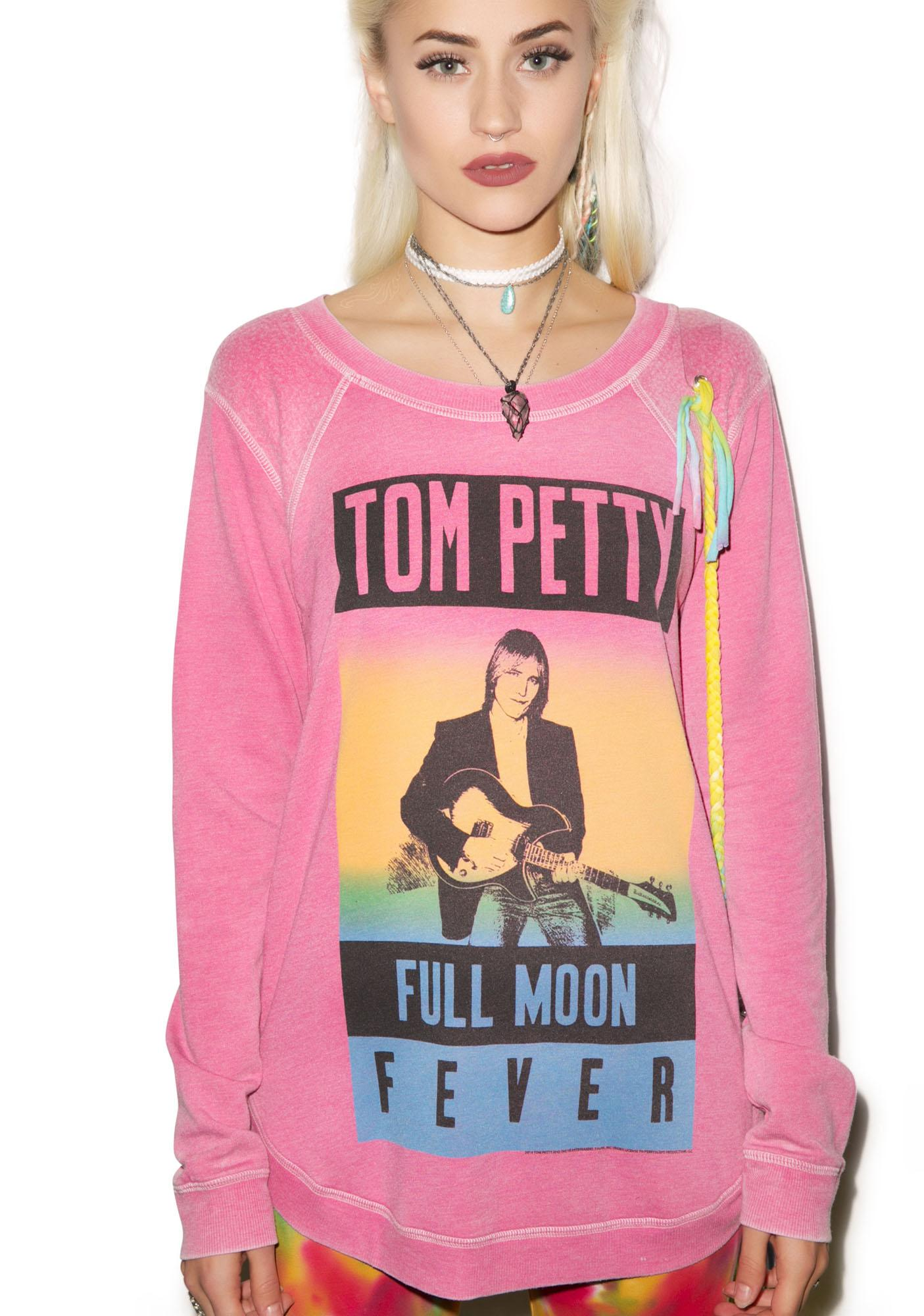 Chaser Tom Petty Reverse Shoulder Shirt Tail