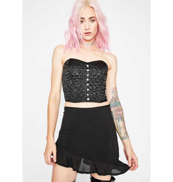 Current Mood Pick You Up Ruffle Skirt