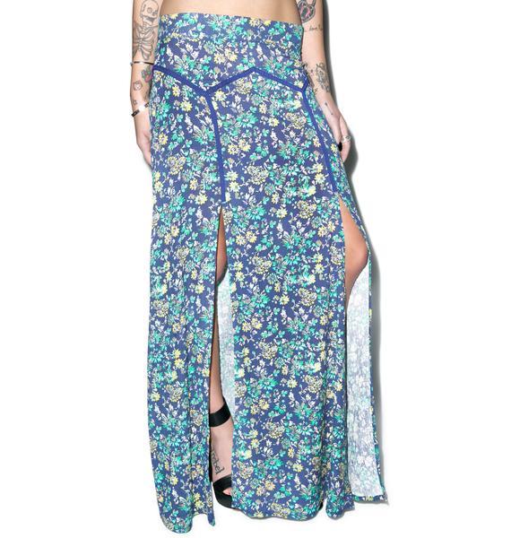 Somedays Lovin Mandala Floral Maxi Skirt