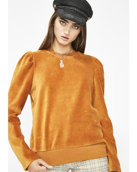 The Realness Corduroy Sweater