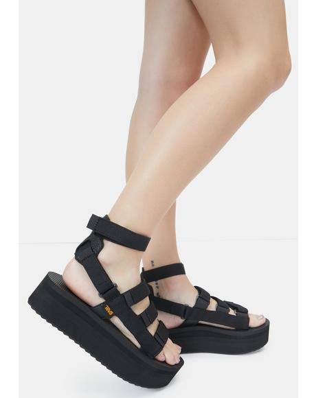 Flatform Mevia Sandals