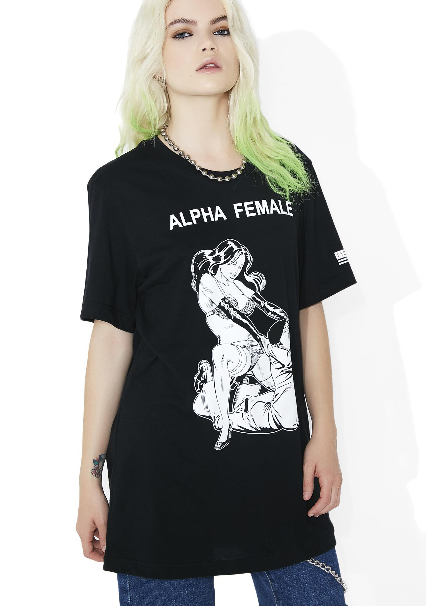 These Americans Alpha Female Tee