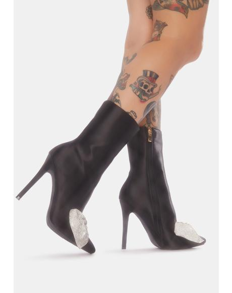 Need You All To Myself Stiletto Booties