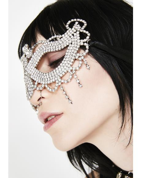 Illusive Fantasy Crystal Mask