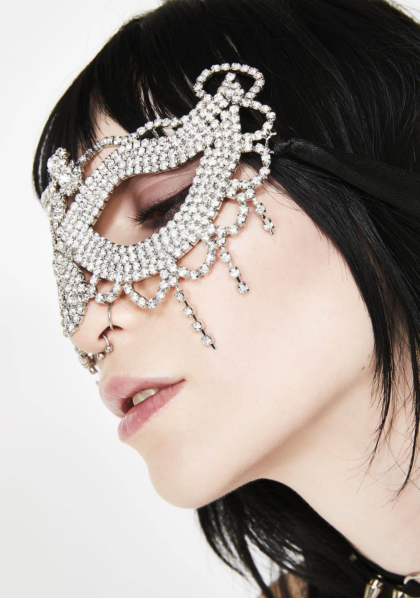 Illusive Fantasy Crystal Mask