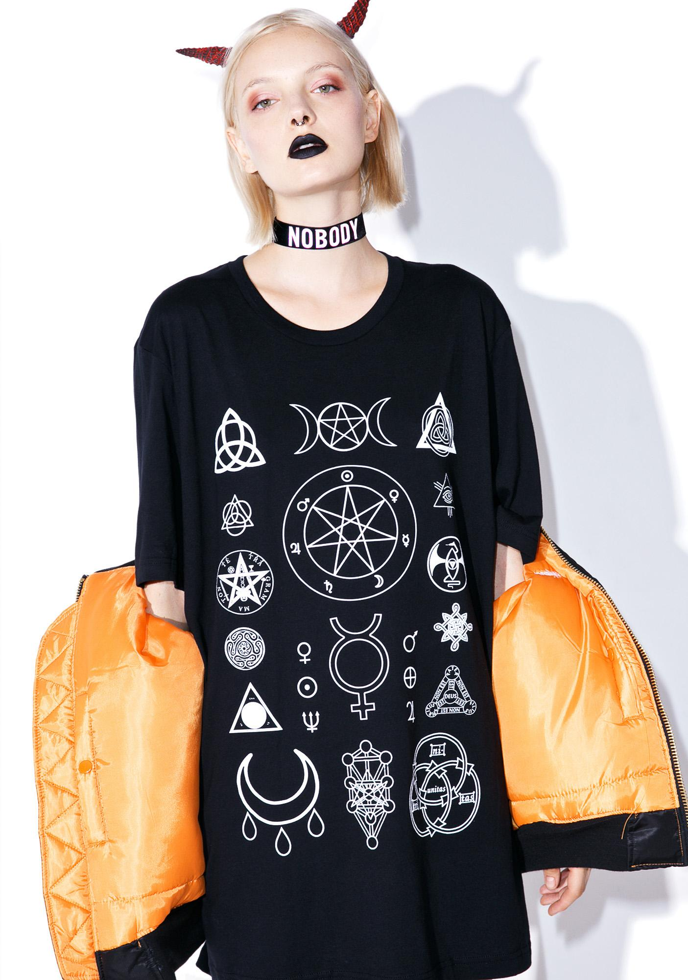 Witch Worldwide Witch Symbols T-Shirt