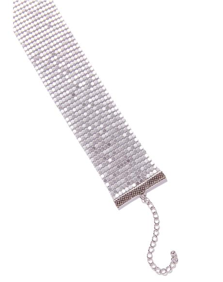 Backseat Babe Chainmail Choker